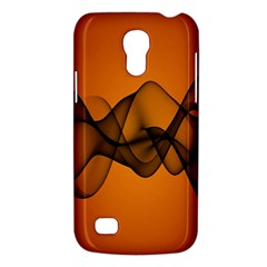 Transparent Waves Wave Orange Galaxy S4 Mini by Mariart