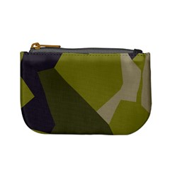 Unifom Camuflage Green Frey Purple Falg Mini Coin Purses