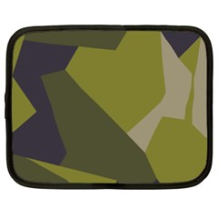 Unifom Camuflage Green Frey Purple Falg Netbook Case (xxl)  by Mariart