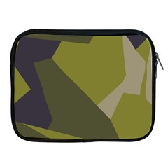 Unifom Camuflage Green Frey Purple Falg Apple Ipad 2/3/4 Zipper Cases by Mariart