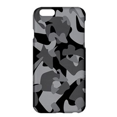 Urban Initial Camouflage Grey Black Apple Iphone 6 Plus/6s Plus Hardshell Case by Mariart
