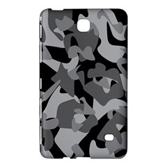Urban Initial Camouflage Grey Black Samsung Galaxy Tab 4 (8 ) Hardshell Case  by Mariart