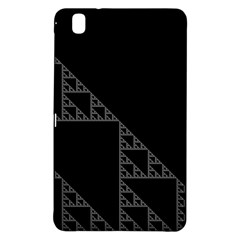 Triangle Black White Chevron Samsung Galaxy Tab Pro 8 4 Hardshell Case by Mariart