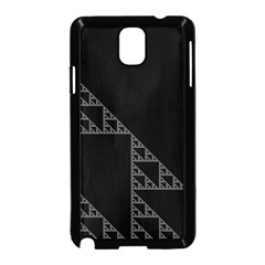 Triangle Black White Chevron Samsung Galaxy Note 3 Neo Hardshell Case (black) by Mariart