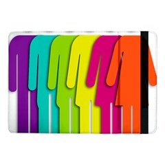 Trans Gender Purple Green Blue Yellow Red Orange Color Rainbow Sign Samsung Galaxy Tab Pro 10 1  Flip Case by Mariart