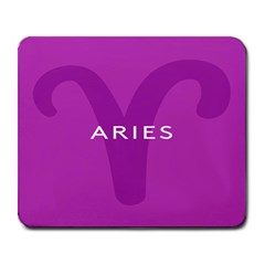 Zodiac Aries Large Mousepads by Mariart