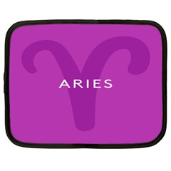 Zodiac Aries Netbook Case (xl)  by Mariart