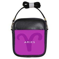 Zodiac Aries Girls Sling Bags by Mariart