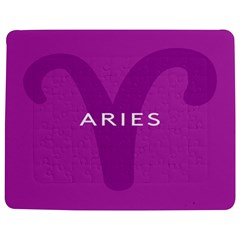 Zodiac Aries Jigsaw Puzzle Photo Stand (rectangular) by Mariart
