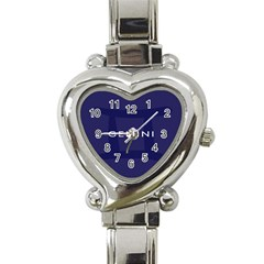 Zodiac Gemini Heart Italian Charm Watch by Mariart