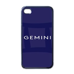 Zodiac Gemini Apple Iphone 4 Case (black) by Mariart