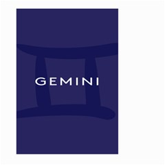 Zodiac Gemini Large Garden Flag (two Sides) by Mariart