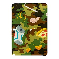Urban Camo Green Brown Grey Pizza Strom Samsung Galaxy Tab Pro 10 1 Hardshell Case by Mariart