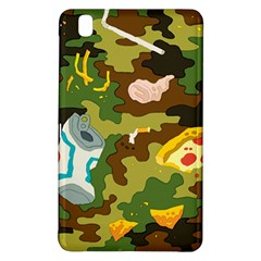 Urban Camo Green Brown Grey Pizza Strom Samsung Galaxy Tab Pro 8 4 Hardshell Case by Mariart