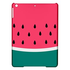Watermelon Red Green White Black Fruit Ipad Air Hardshell Cases by Mariart