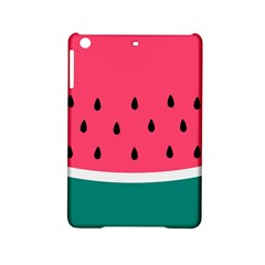 Watermelon Red Green White Black Fruit Ipad Mini 2 Hardshell Cases by Mariart