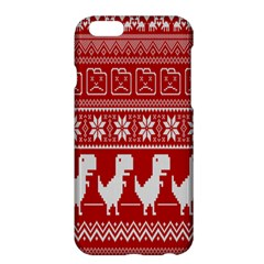 Red Dinosaur Star Wave Chevron Waves Line Fabric Animals Apple Iphone 6 Plus/6s Plus Hardshell Case by Mariart