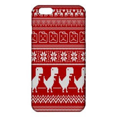 Red Dinosaur Star Wave Chevron Waves Line Fabric Animals Iphone 6 Plus/6s Plus Tpu Case by Mariart