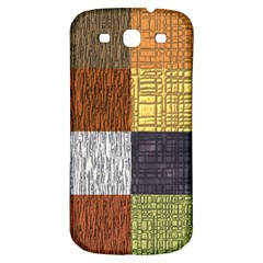 Blocky Filters Yellow Brown Purple Red Grey Color Rainbow Samsung Galaxy S3 S Iii Classic Hardshell Back Case by Mariart