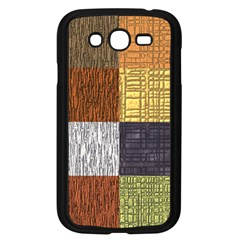Blocky Filters Yellow Brown Purple Red Grey Color Rainbow Samsung Galaxy Grand Duos I9082 Case (black) by Mariart