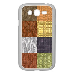 Blocky Filters Yellow Brown Purple Red Grey Color Rainbow Samsung Galaxy Grand Duos I9082 Case (white) by Mariart