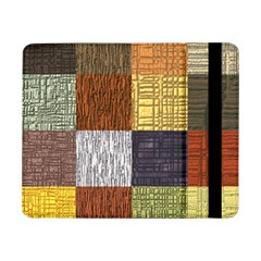 Blocky Filters Yellow Brown Purple Red Grey Color Rainbow Samsung Galaxy Tab Pro 8 4  Flip Case by Mariart