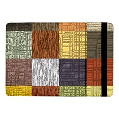 Blocky Filters Yellow Brown Purple Red Grey Color Rainbow Samsung Galaxy Tab Pro 10 1  Flip Case by Mariart