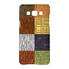 Blocky Filters Yellow Brown Purple Red Grey Color Rainbow Samsung Galaxy A5 Hardshell Case  by Mariart