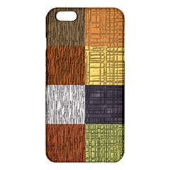 Blocky Filters Yellow Brown Purple Red Grey Color Rainbow Iphone 6 Plus/6s Plus Tpu Case by Mariart