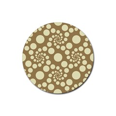 Pattern Rubber Coaster (round)