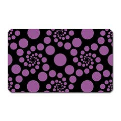 Pattern Magnet (rectangular) by Valentinaart