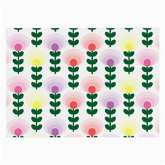 Floral Wallpaer Pattern Bright Bright Colorful Flowers Pattern Wallpaper Background Large Glasses Cloth by Simbadda