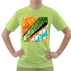 Abstract Wallpapers Green T Shirt