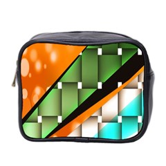 Abstract Wallpapers Mini Toiletries Bag 2 Side by Simbadda