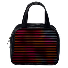 Colorful Venetian Blinds Effect Classic Handbags (one Side) by Simbadda