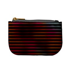 Colorful Venetian Blinds Effect Mini Coin Purses