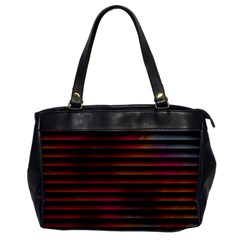 Colorful Venetian Blinds Effect Office Handbags by Simbadda
