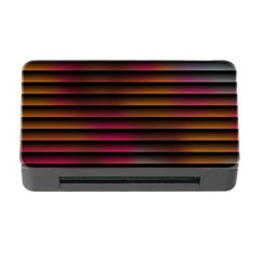 Colorful Venetian Blinds Effect Memory Card Reader With Cf by Simbadda