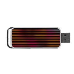 Colorful Venetian Blinds Effect Portable Usb Flash (two Sides) by Simbadda