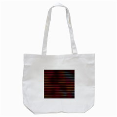 Colorful Venetian Blinds Effect Tote Bag (white)