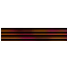 Colorful Venetian Blinds Effect Flano Scarf (small) by Simbadda