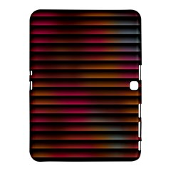 Colorful Venetian Blinds Effect Samsung Galaxy Tab 4 (10 1 ) Hardshell Case  by Simbadda