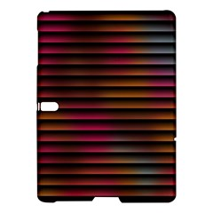 Colorful Venetian Blinds Effect Samsung Galaxy Tab S (10 5 ) Hardshell Case  by Simbadda