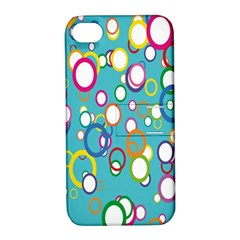 Circles Abstract Color Apple Iphone 4/4s Hardshell Case With Stand