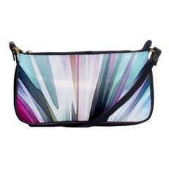 Flower Petals Abstract Background Wallpaper Shoulder Clutch Bags by Simbadda