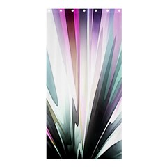 Flower Petals Abstract Background Wallpaper Shower Curtain 36  X 72  (stall)  by Simbadda