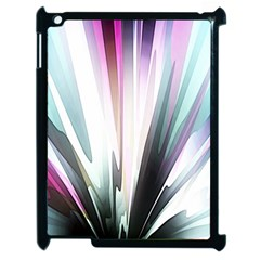 Flower Petals Abstract Background Wallpaper Apple Ipad 2 Case (black) by Simbadda