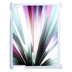 Flower Petals Abstract Background Wallpaper Apple Ipad 2 Case (white) by Simbadda