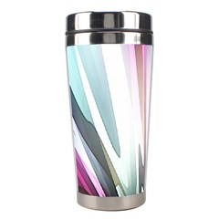 Flower Petals Abstract Background Wallpaper Stainless Steel Travel Tumblers by Simbadda
