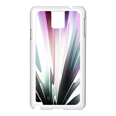Flower Petals Abstract Background Wallpaper Samsung Galaxy Note 3 N9005 Case (white) by Simbadda